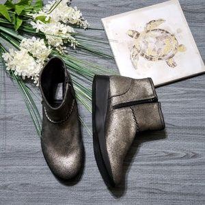 Naturalizer Julian Ankle Boots  Pewter Metallic